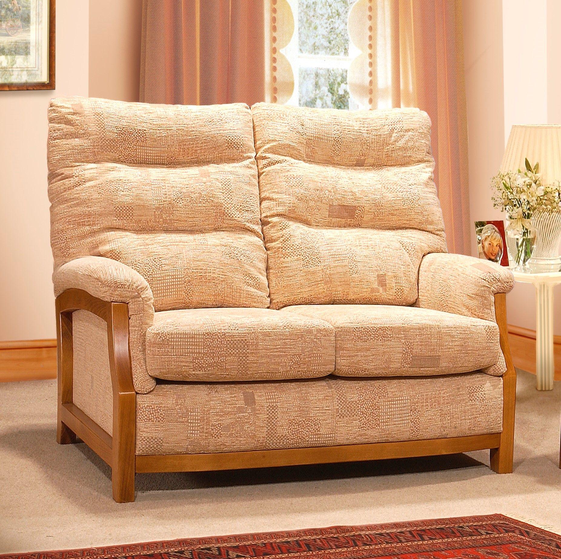 Yeoman Upholstery Sienna 2 Seater Sofa Small Sofas