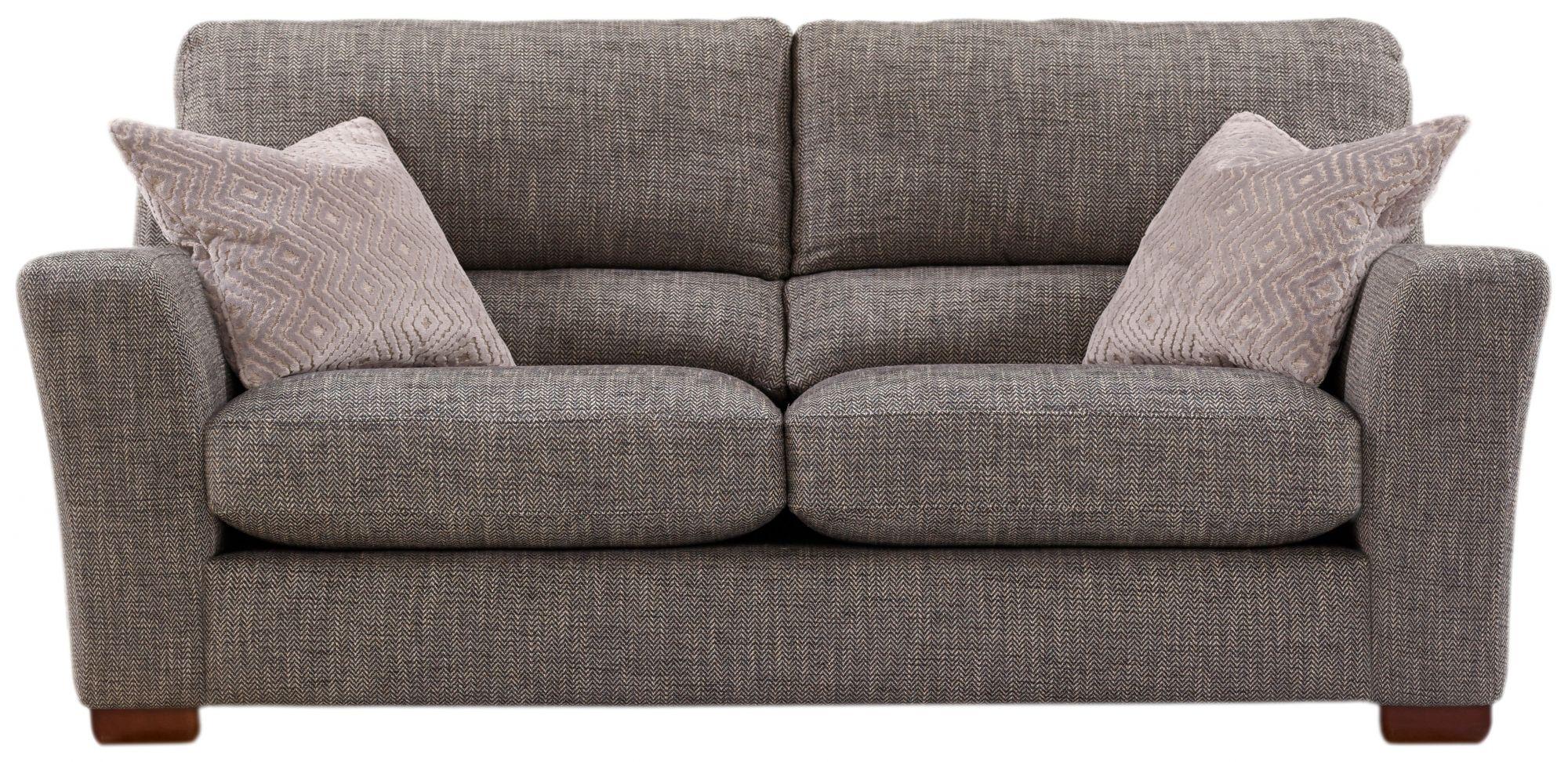 Ashwood Designs Ashwood Plaza 3 Seater Sofa Medium Sofas