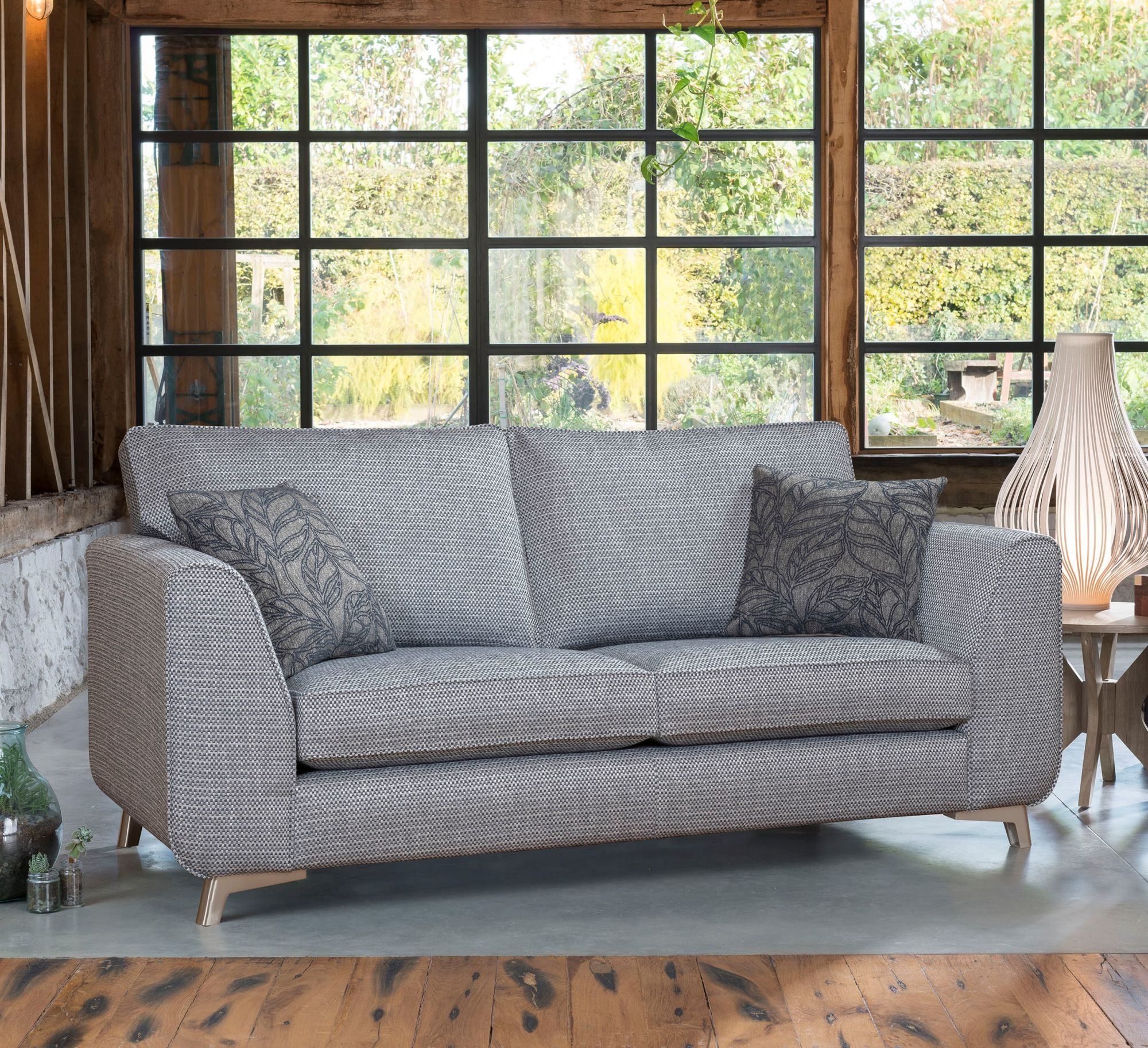 Alstons Stockholm 3 Seater Sofa Medium Sofas Living Homes