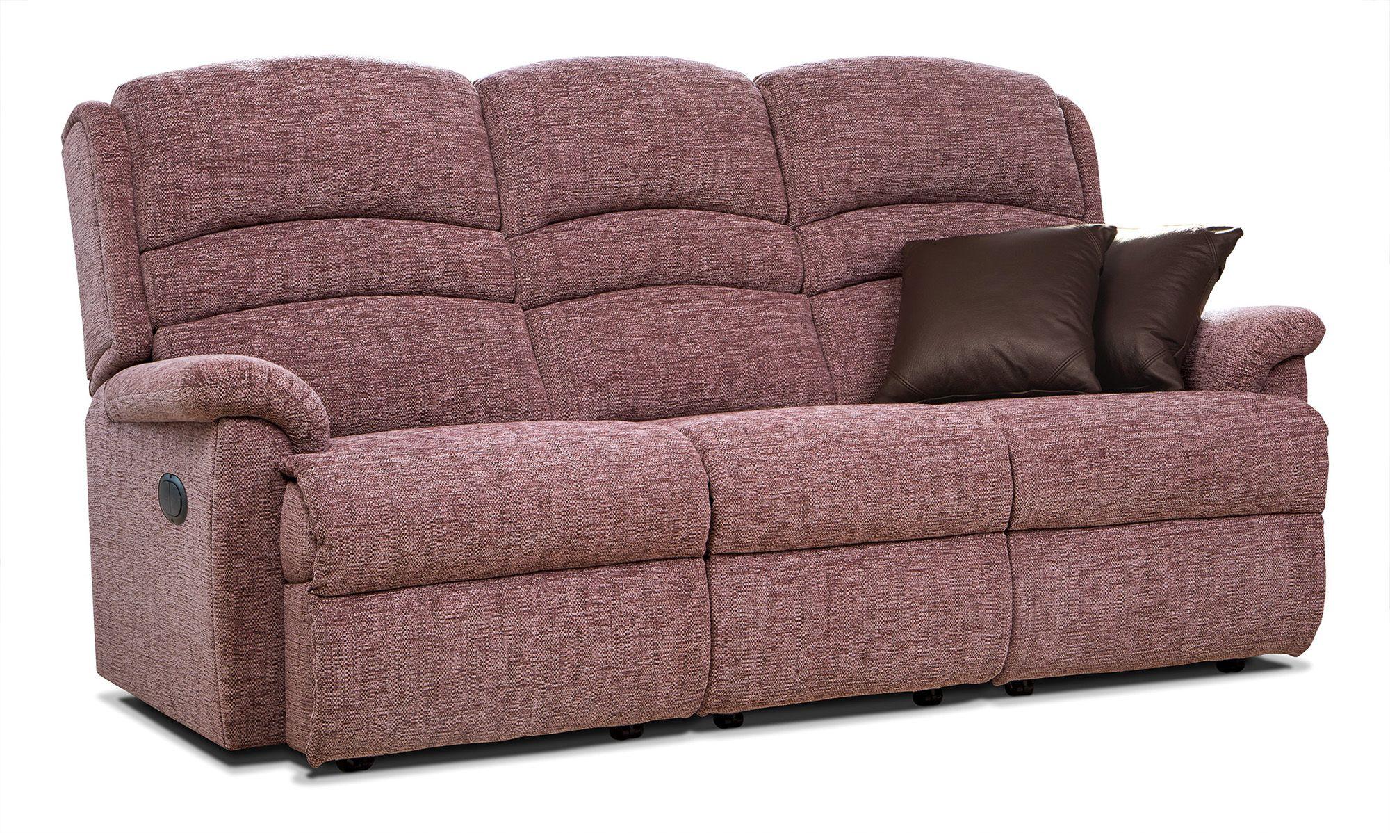 Ottomans Sherborne Ottoman Large: Sherborne Upholstery Sherborne Olivia Reclining 3 Seater