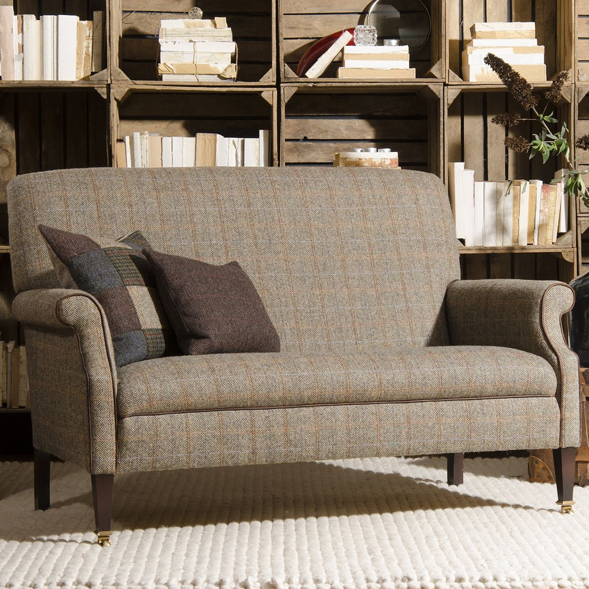 Tetrad Harris Tweed Bowmore Compact Sofa Small Sofas