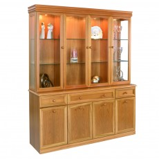 Sutcliffe Trafalgar 4 Glass Door Display Unit