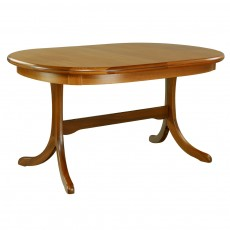 Sutcliffe Trafalgar Goodwood Oval Extending Dining Table