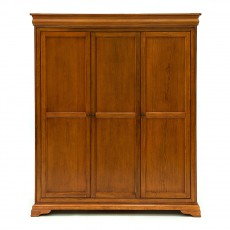 Willis & Gambier Louis Philippe Triple Fitted Wardrobe