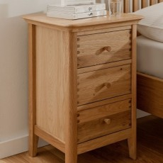 Willis & Gambier Spirit 3 Drawer Bedside Chest