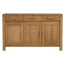 Regis Oak 3 Door 3 Drawer Sideboard