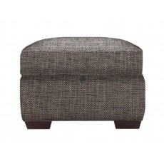Ashwood Plaza Storage Footstool