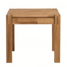 Regis Oak Lamp Table