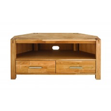 Regis Oak Corner TV Unit