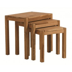 Regis Oak Nest of Tables