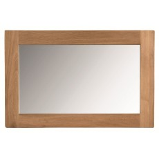 Regis Oak Wall Mirror