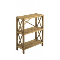 Regis Oak 3 Shelf Unit