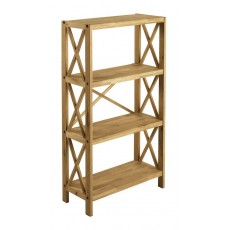Regis Oak 4 Shelf Unit
