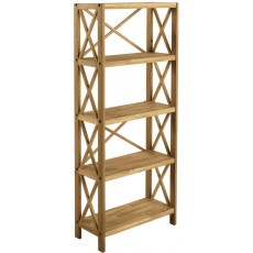 Regis Oak 5 Shelf Unit