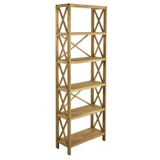 Regis Oak 6 Shelf Unit