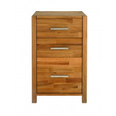 Regis Oak Chest 2 + 1 Drawer