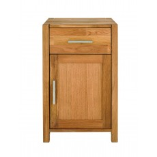 Regis Oak Chest 1 Drawer 1 Door