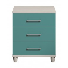Halogen 3 Drawer Wide Chest