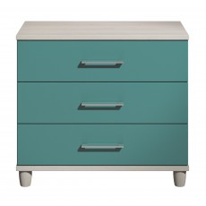 Halogen 3 Drawer Large Chest