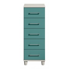 Halogen 5 Drawer Narrow Chest