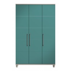 Halogen 3 Door Wardrobe with Shelf Pack