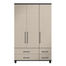 Halogen 3 Door Gents Wardrobe