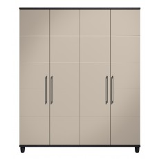 Halogen 4 Door Wardrobe
