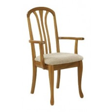 Sutcliffe Trafalgar Arran Dining Carver Arm Chair