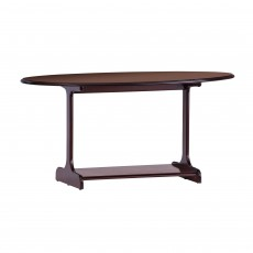 Gola Clifton / Downton Large Oval Coffee Table with Shelf