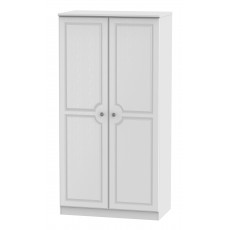 Welcome Bude 3ft Plain Wardrobe