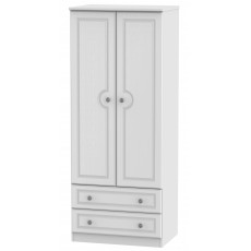 Welcome Bude 2ft 6in 2 Drawer Wardrobe