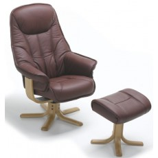 Elano Globe Relaxer Chair & Footstool (To Order)