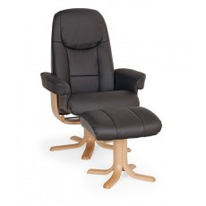 Elano Oslo Relaxer Chair & Footstool (To Order)