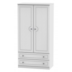 Welcome Bude 3ft 2 Drawer Wardrobe