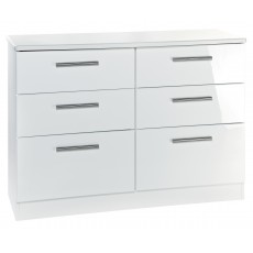 Welcome Infinity 6 Drawer Midi Chest