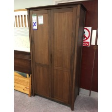 Clearance - Willis Gambier Elegance Double Wardrobe