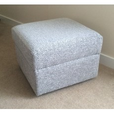 Yeoman Upholstery Fixed-Top Footstool
