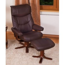 Elano Golf  Relaxer Chair & Footstool (Stock Colour)