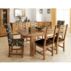 Willis Gambier Normandy Large Extending Table & 6 Dining Chairs