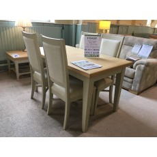 Clearance - Willis Gambier Coast Small Extending Table & 4 Chairs