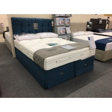 Clearance - Hypnos 5'0' (150cm) Kingsize Clarence Supreme Divan Set PLUS Grace H/board