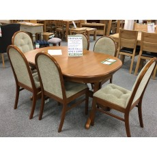Clearance - Sutcliffe Trafalgar Goodwood Table & 6 x Droxford Chairs