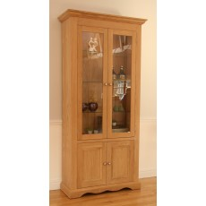 Andrena Pelham Wide Glazed Bookcase