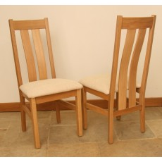 Andrena Pelham Twin Slatback Dining Chair (Each)