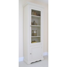 Andrena Barley Narrow Glazed Bookcase