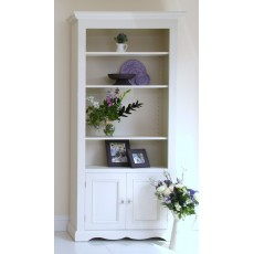 Andrena Barley Wide Open Bookcase with Door