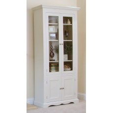 Andrena Barley Wide Glazed Bookcase