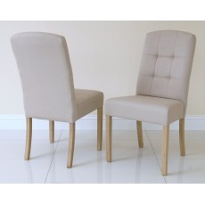 Andrena Barley Upholstered Dining Chair (Each)