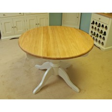 Andrena Barley Round Fixed Top Table
