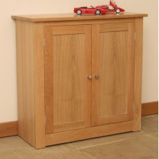 Andrena Elements Medium Tall 2 Door Hall Cupboard